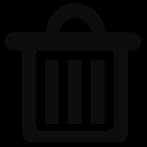 garbage, rubbish, trash icon