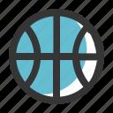 ball, basket, dribble, education, school, sport icon