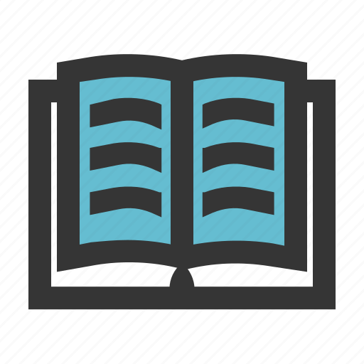 book, dictionary, education, read, school, story icon