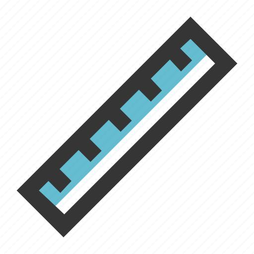 dimension, education, ruler, school, stationary, tool icon