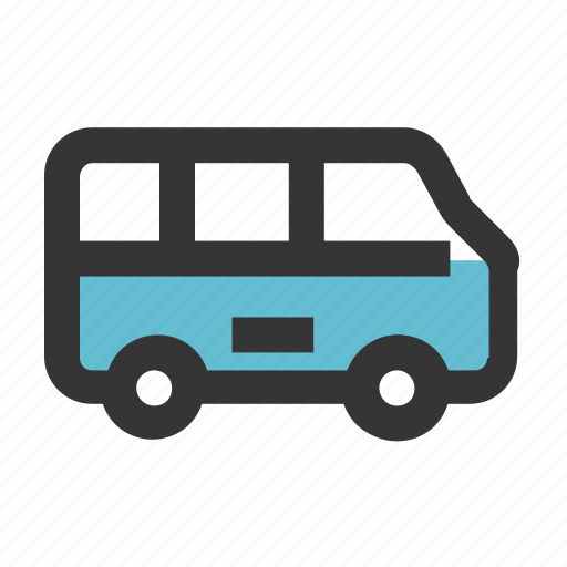 bus, car, education, school, transportation icon