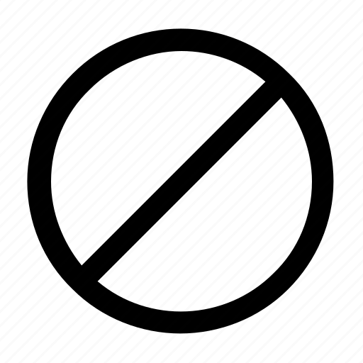 ban, banned, sign, ui icon