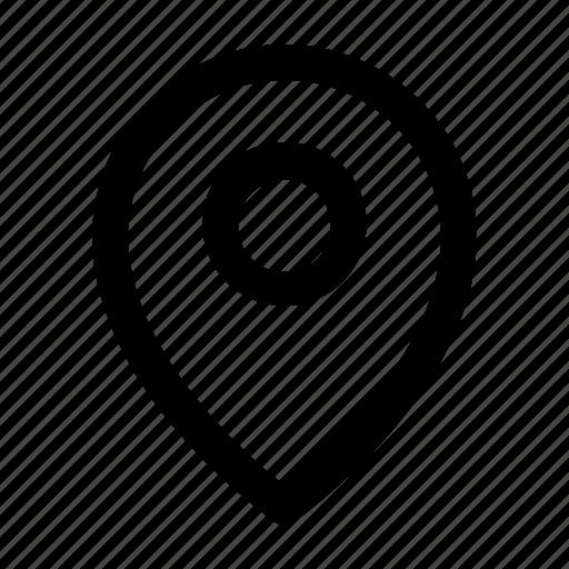 gps, location, maps, pinned, ui icon