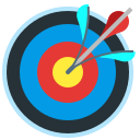 accuracy, targeting, target, arrow icon