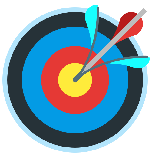 accuracy, arrow, target, targeting icon