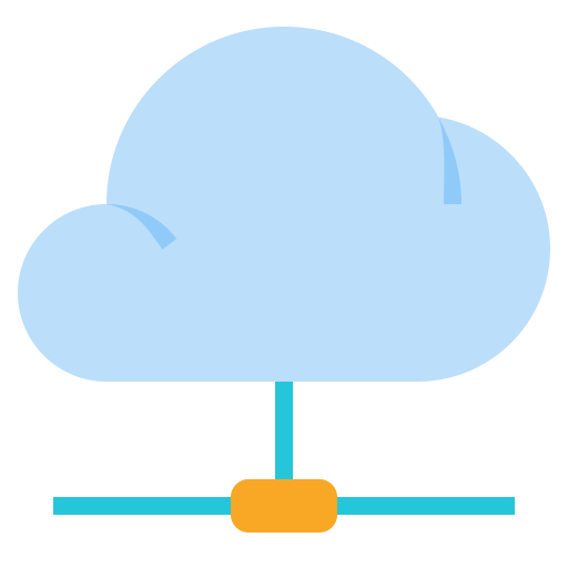 cloud, data, network, storage icon