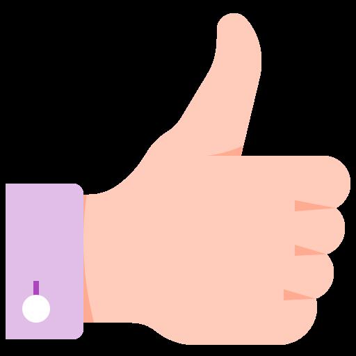 hand, like, tumb, up icon