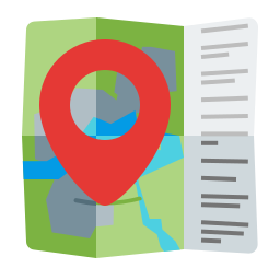advantage, gps, location, map, marker icon
