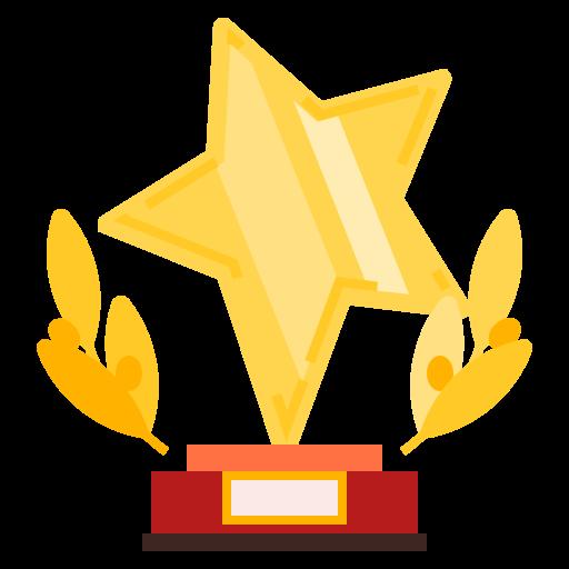 award, prize, quality, star, trophy icon