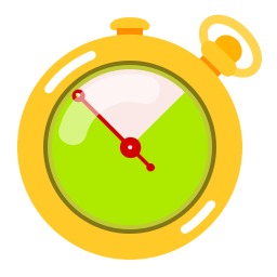 fast, speed, stopwatch, timer icon