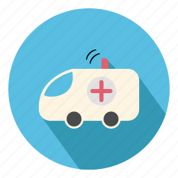 ambulance, health, healthcare, medical, patient, transport, transportation icon