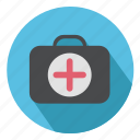 bag, briefcase, doctor, healthcare, medical, suitcase icon