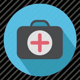 bag, briefcase, doctor, healthcare, medical, suitcase icon