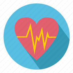 beat, cardiac, ecg, health, heart, medical icon