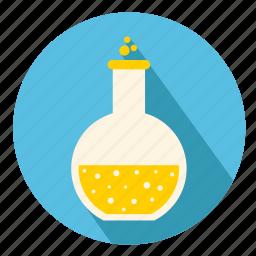 bottle, chemestry, laboratory, manipulation, pain, remedy, syrup icon