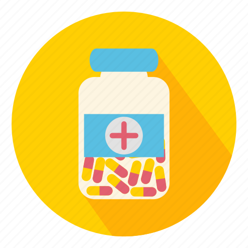cure, drugs, jar, medicine, pills, pot, remedy icon