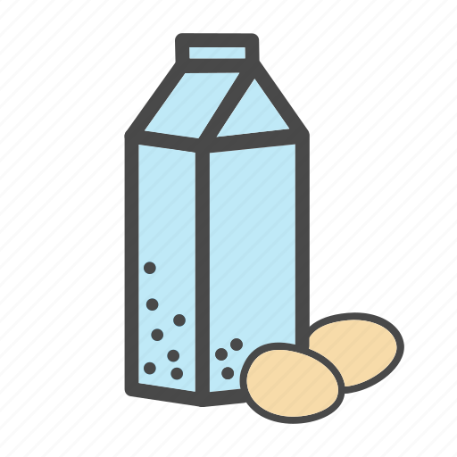 a carton of milk, category, eggs, food, market, milk icon