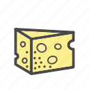 category, cheese, food, market icon