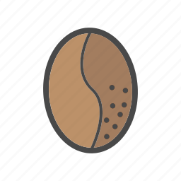 category, coffee, coffee bean, food, market icon