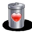 Delete Recyle_bin_heart_love