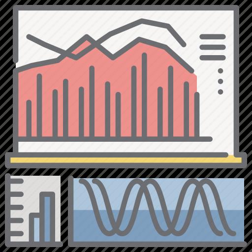 analytics, chart, presentation, report, statistics icon