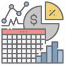 analytics, dashboard, sales, spreadsheet, statistics icon