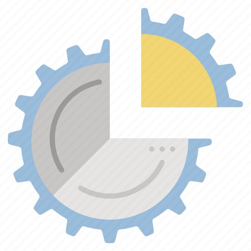 analytics, chart, data, processing, sales icon