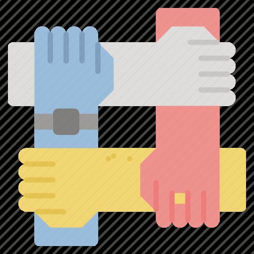 business, partnership, teamwork icon