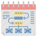 business, management, planning, schedule, task icon