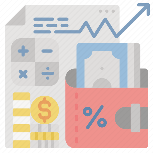 accounting, finance, money, return, tax, vat icon