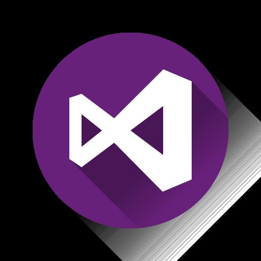 microsoft, studio, visual, windows icon