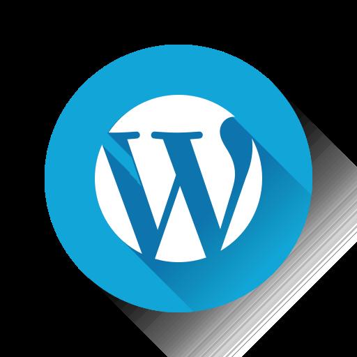 wordpress, wp icon