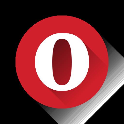 o, opera icon