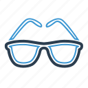 eyeglasses, glasses, knowledge, spectacles, summer, view, wisdom icon