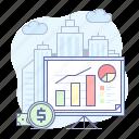 business, growth, analytics, board, presentation, sales