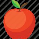 apple, food, fruit, iconset, illustrative, palpable, tangible icon