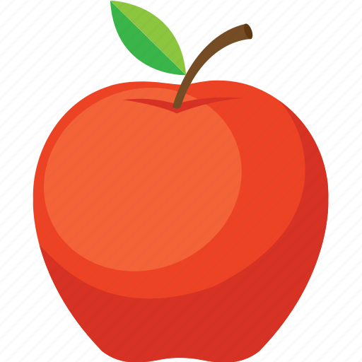 apple, food, fruit, iconset, illustrative, palpable, tangible icon