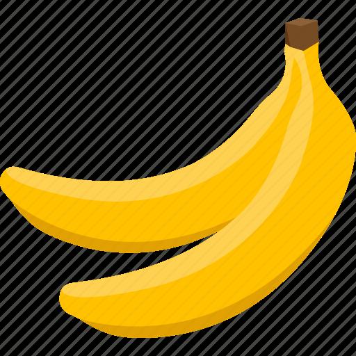 bananas, food, fruit, iconset, illustrative, palpable, tangible icon