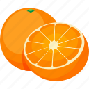 food, fruit, iconset, illustrative, oranges, palpable, tangible icon