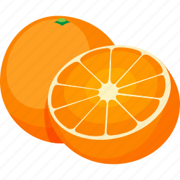 food, fruit, iconset, illustrative, oranges, palpable, tangible icon