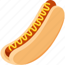 fast food, food, hotdog, iconset, illustrative, palpable, tangible icon