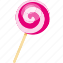 candy, food, illustrative, lollipop, palpable, stick, sweets icon