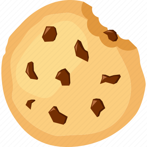 chocolate, chocolate chip, chunks, cookie, food, palpable, sweets icon