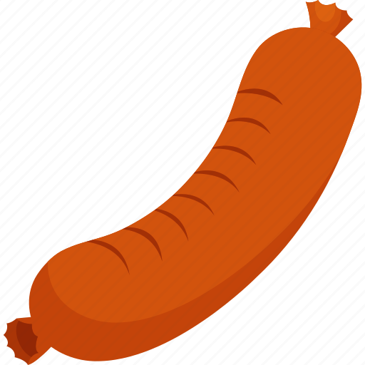 food, illustrative, meat, palpable, protein, proteins, sausage icon