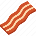 bacon, food, illustrative, meat, palpable