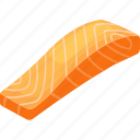 filet, fish, food, illustrative, protein, proteins, salmon icon