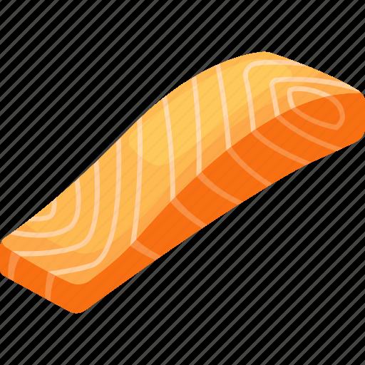 filet, fish, food, illustrative, protein, proteins, salmon icon