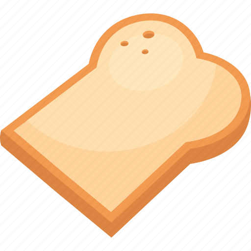 bread, breakfast, food, illustrative, lunch, palpable, slice icon