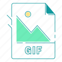 extension, file type, format, gif, image, type