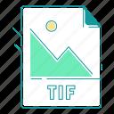 extension, file type, format, image, tif, type